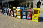 newspaper vending boxes