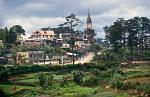 the hill station of Dalat