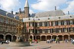 the Binnenhof, seat of the Dutch Government, The Hague