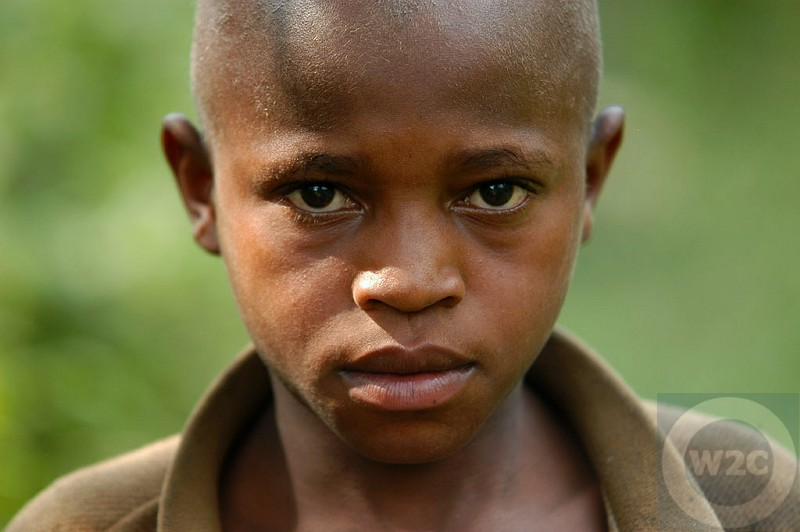 Uganda - local boy, Kibale National Park