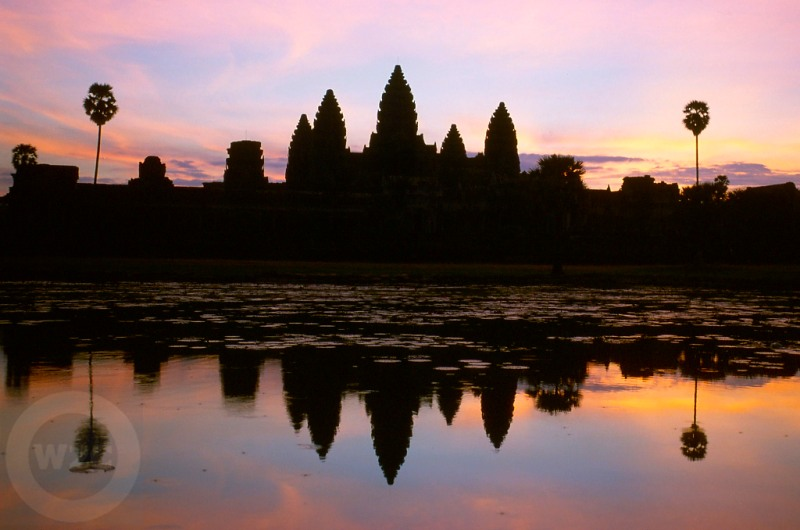 Cambodia - Angkor Wat at sunrise
